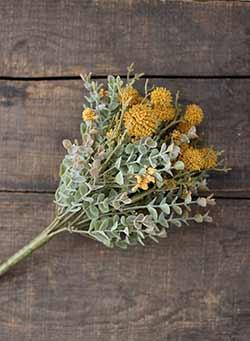 Mustard Fall Garden 10 inch Pick