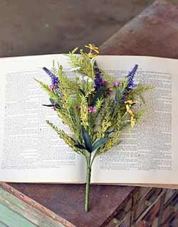 Meadow Flowers 14 inch Spray