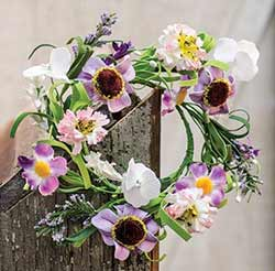 Lilac Garden Candle Ring