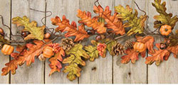 Harvest Oak Leaf Garland