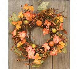 Harvest Garden Candle Ring/Wreath