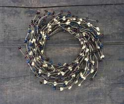 Old Glory Pip Berry 4.25 inch Candle Ring
