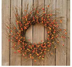 Bittersweet Twig Wreath
