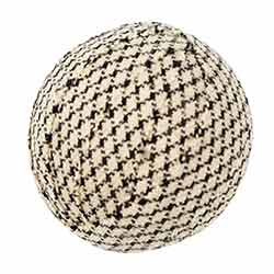 Farmhouse Star 1.5 inch Fabric Ball (Set of 6)