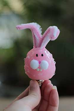 Pink Bunny Silicone Light Bulb