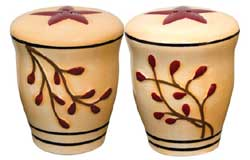 Berry Vine Salt & Pepper Shaker Set