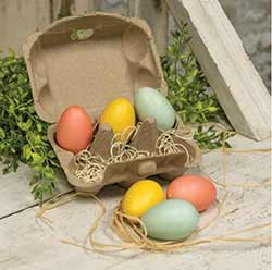 Spring Eggs in Carton