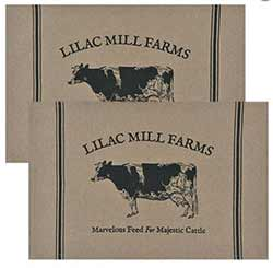 Lilac Mill Farms Placemats (Set of 2)