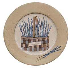 Lavender Basket Plate