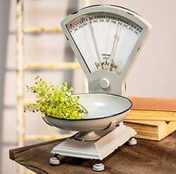Farmhouse Decorative Scale & Perpetual Calendar