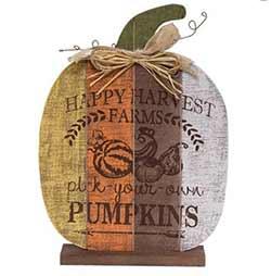 Pick Your Own Pumpkins Decor