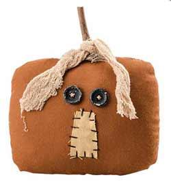 Square Pumpkin Head
