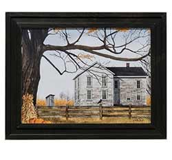 Harvest Time House Framed Print