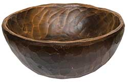 Reproduction Treenware 7 inch Bowl