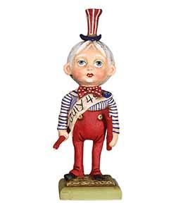 Uncle Sammy Boy Figurine