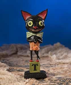 Smiley Black Cat