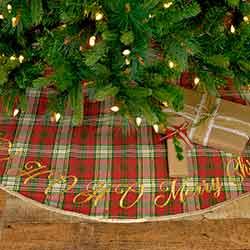 HO HO Holiday 48 inch Tree Skirt