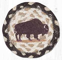 Buffalo Braided Coaster