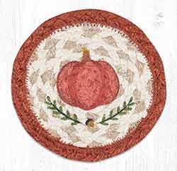 Pumpkin Perfect Braided Coaster