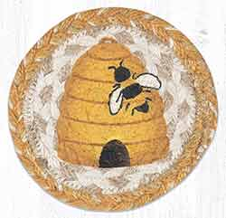 Beehive Braided Coaster