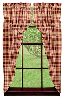 Raspberry Prairie Curtain