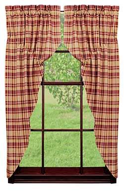 Raspberry Prairie Curtain