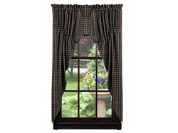 Cambridge Black Prairie Curtain (63 inch)
