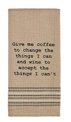 Coffee & Wine Dishtowel