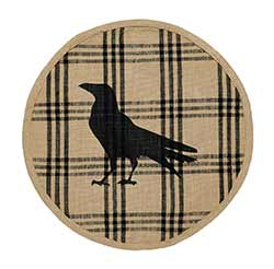 Olde Crow Round Placemat