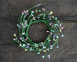 Spring Pip Berry Candle Ring - 3.5 inch