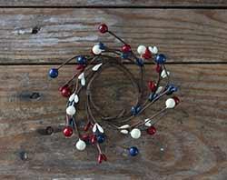 Americana Berry 1.5 inch Ring
