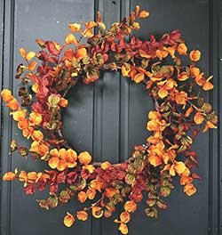 Fall Eucalyptus Wreath