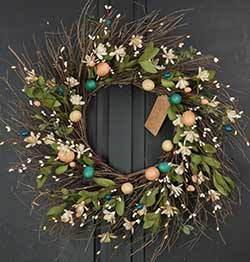 Natural Easter Wreath