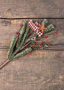 Homespun Holiday Pine & Pip Berry Pick