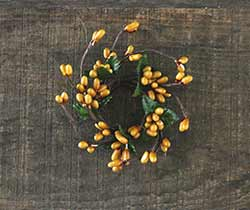 Mustard Pip Berry Ring - 1 inch