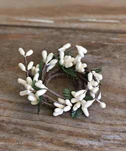 Ivory Mini Candle Ring