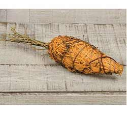 Rustic Rattan Carrot