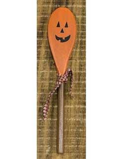 Jack o'Lantern Wooden Spoon