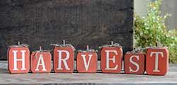 Harvest Blocks Shelf Sitter