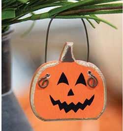 Mini Jack o Lantern Ornament