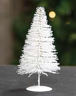 Snowy White Sisal Tree - 6 inch