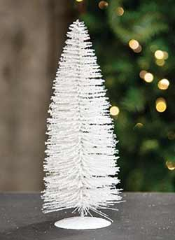 Snowy White Sisal Tree - 10 inch