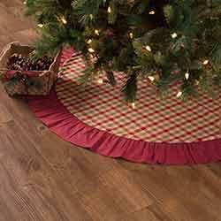 Jonathan Plaid 48 inch Tree Skirt