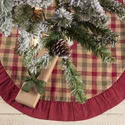 Jonathan Plaid Mini 21 inch Tree Skirt