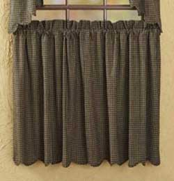 Kettle Grove Cafe Curtains - 36 inch