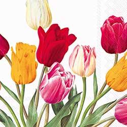 Tulips Paper Luncheon Napkins