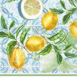 Citrus Limon Paper Luncheon Napkins