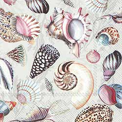 Shells of the Sea Paper Luncheon Napkins