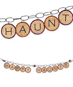 Happy Haunts Garland