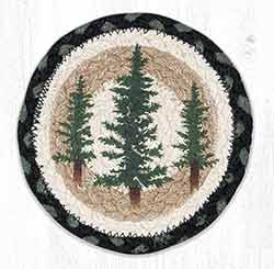 Tall Timbers Round 7 inch Trivet